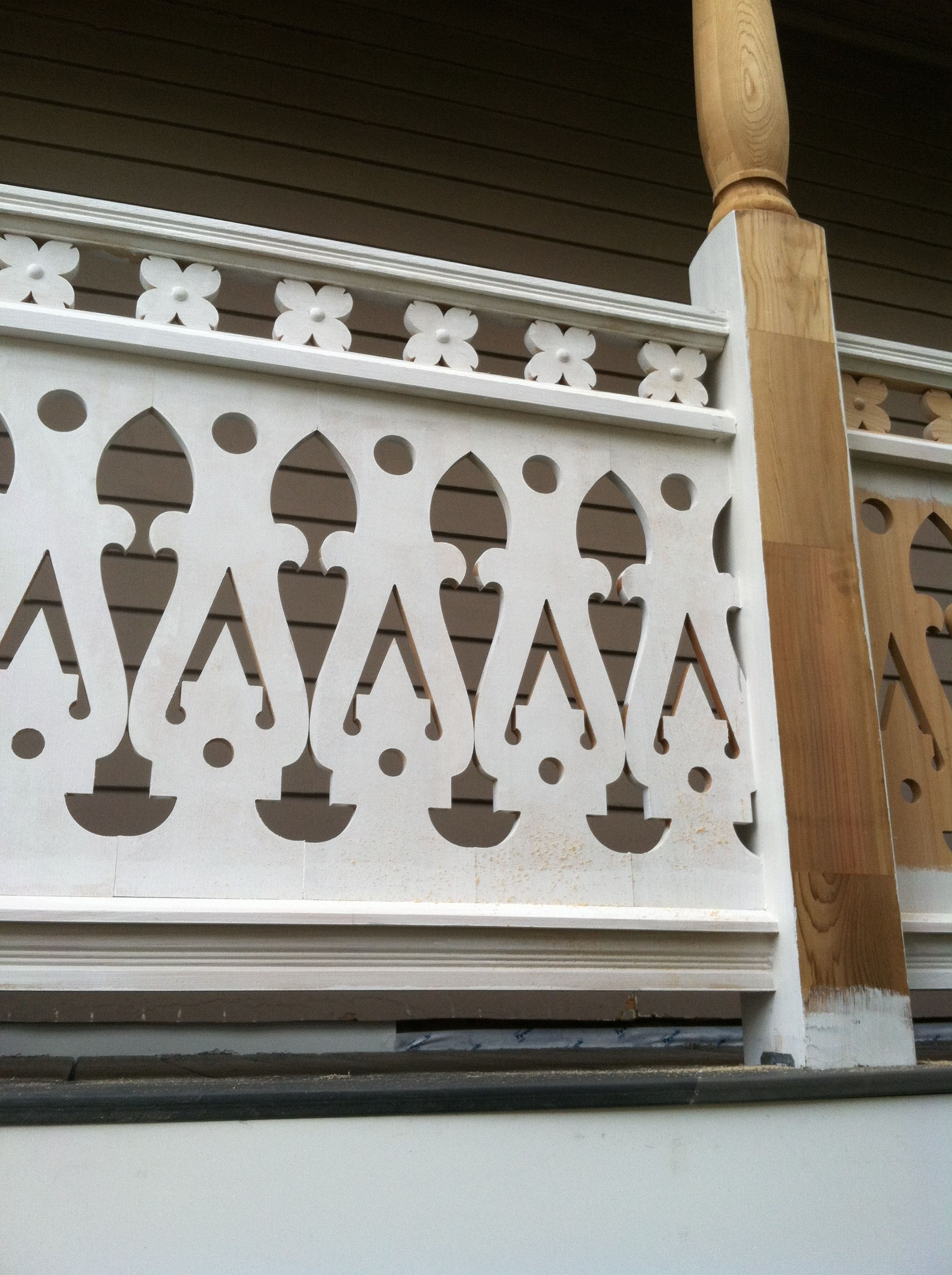 Assembled Baluster. Had To Add A Plain Subrail Under The
