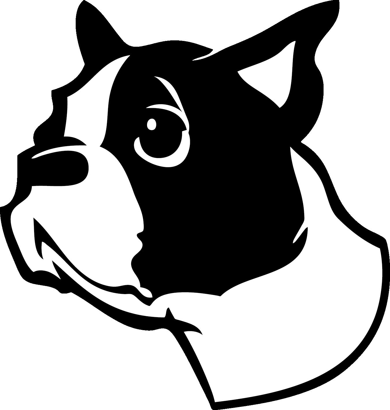 Boston Terrier - DH20 | boston terriers | Pinterest | Siluetas ...