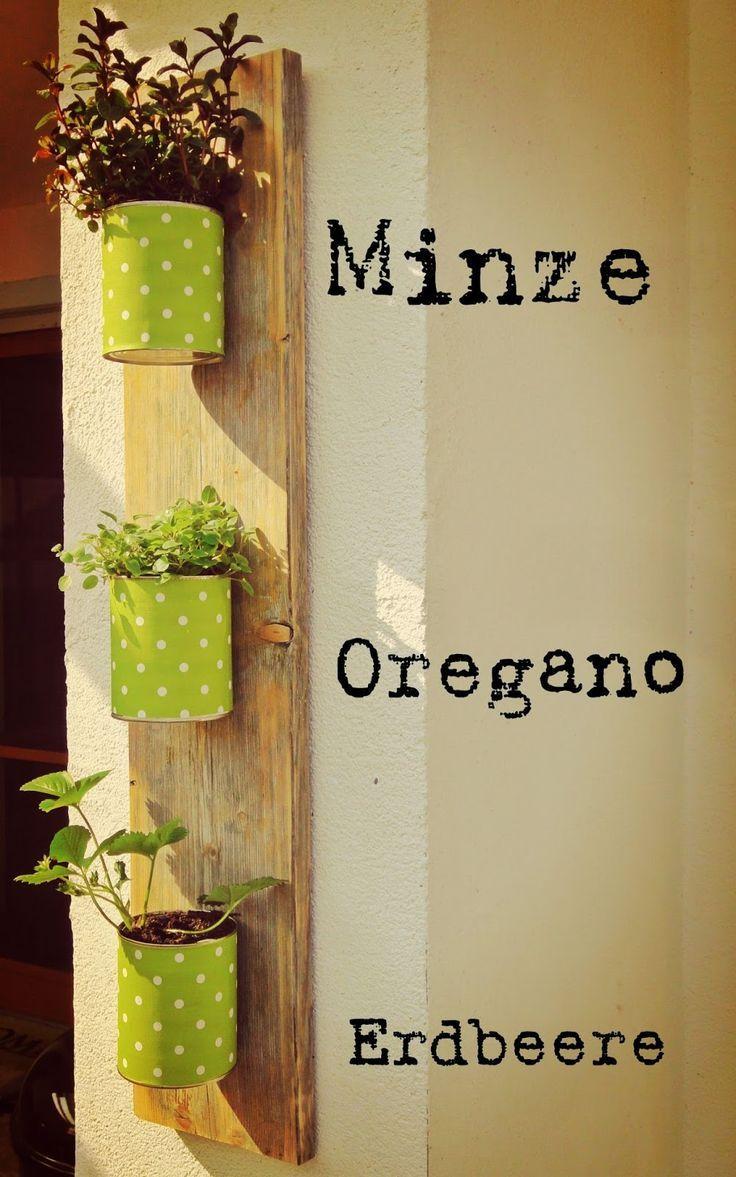 7 Pinterest ~ Horta De Temperos Na Cozinha