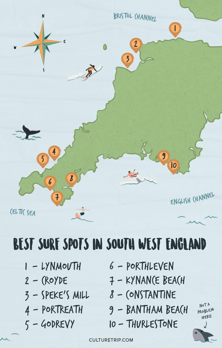 The UK's best surf spots advise