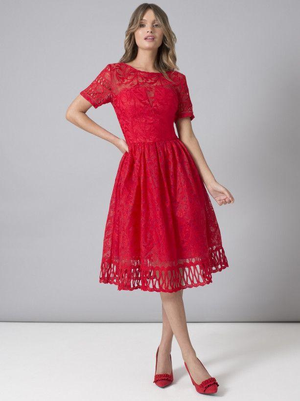 Chi Chi Lilith Dress Chichiclothing Com Crochet Midi Dress Midi Skater Dress Chiffon Midi Dress