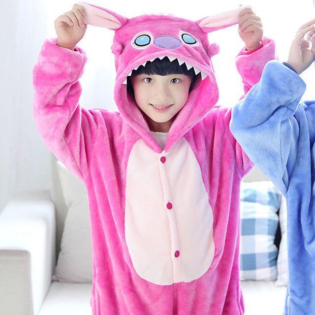 iSZEYU Unicorn Onsie Pajamas Girls Sleepers Pijama Kids Onesie Halloween Costume