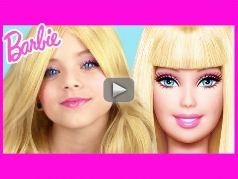 Barbie Makeup Tutorial! | KittiesMama NaturesKnockout Collab - Be as glamorous as Barbie