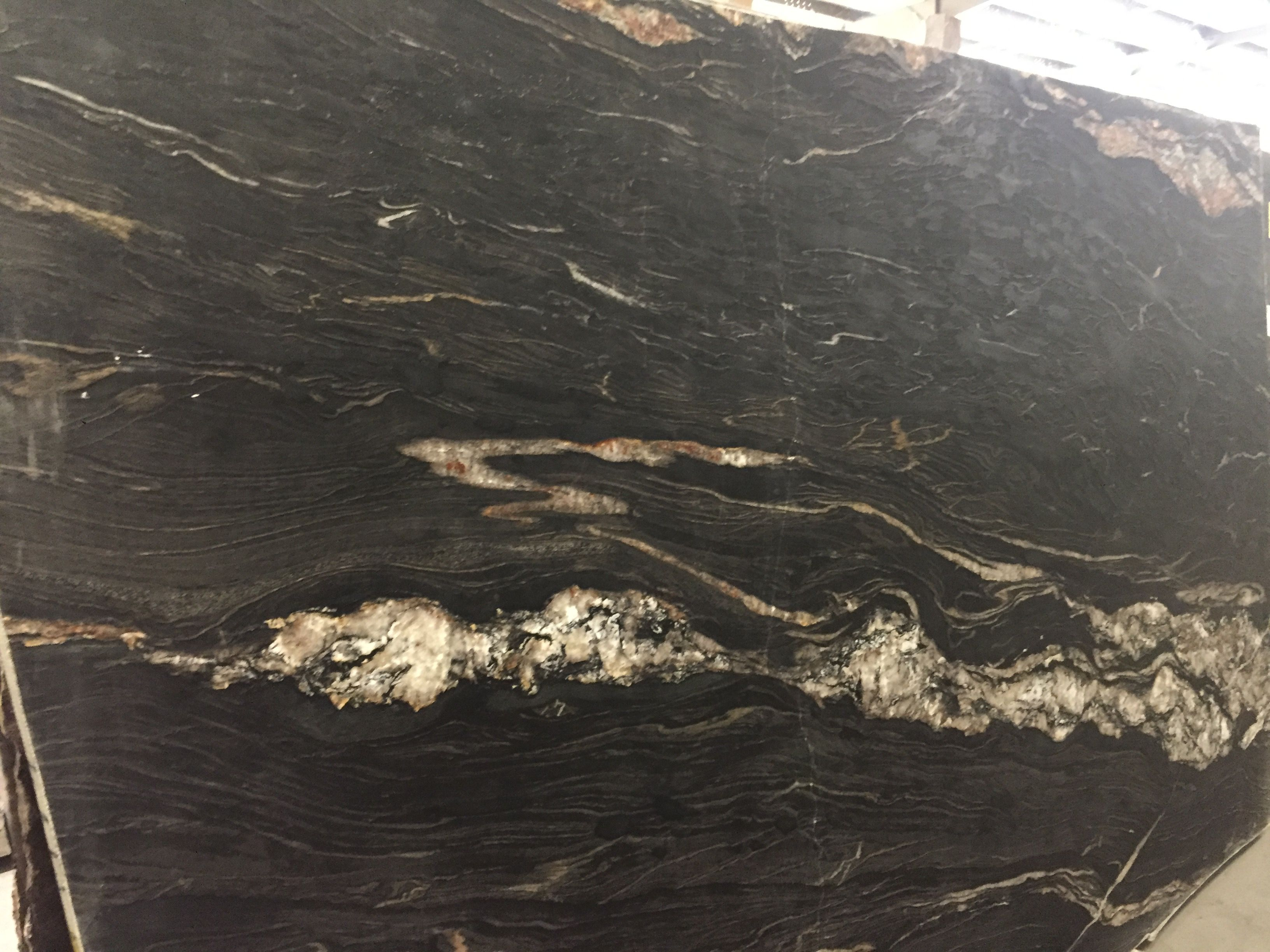 Black Cosmic Leather Granite From Triton Stone Colors