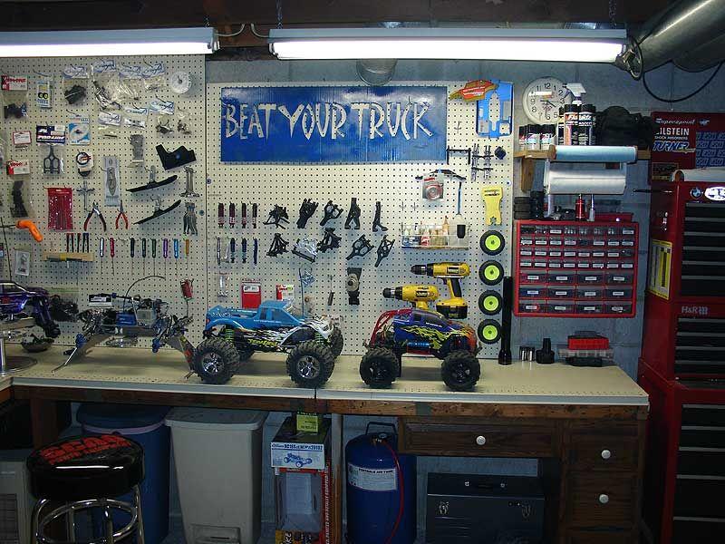 Rc Workshop Setup Google Search Workshop Rc Cars Workshop Garage