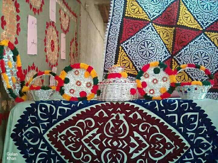 Awesome View Of Sindhi Cultural Things Pakistani Handicrafts