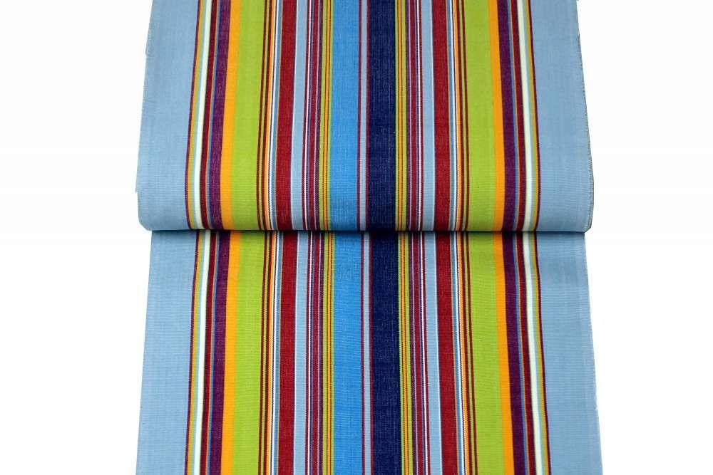 Pale Blue Deckchair Canvas | Deckchair Fabrics | Striped Deck Chair Fabrics Flamenco Stripes  sc 1 th 183 & Pale Blue Deckchair Canvas | Deckchair Fabrics | Striped Deck Chair ...