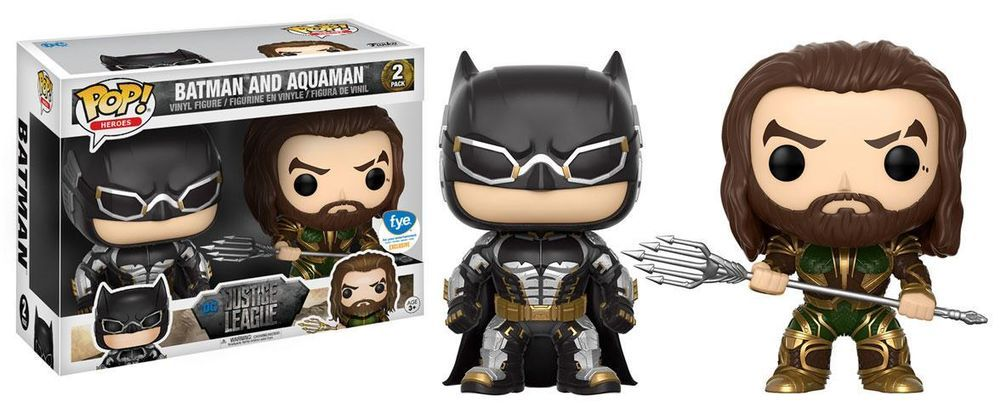 af1eab0a06f Batman   Aquaman 2 pack Exclusive Funko Pop