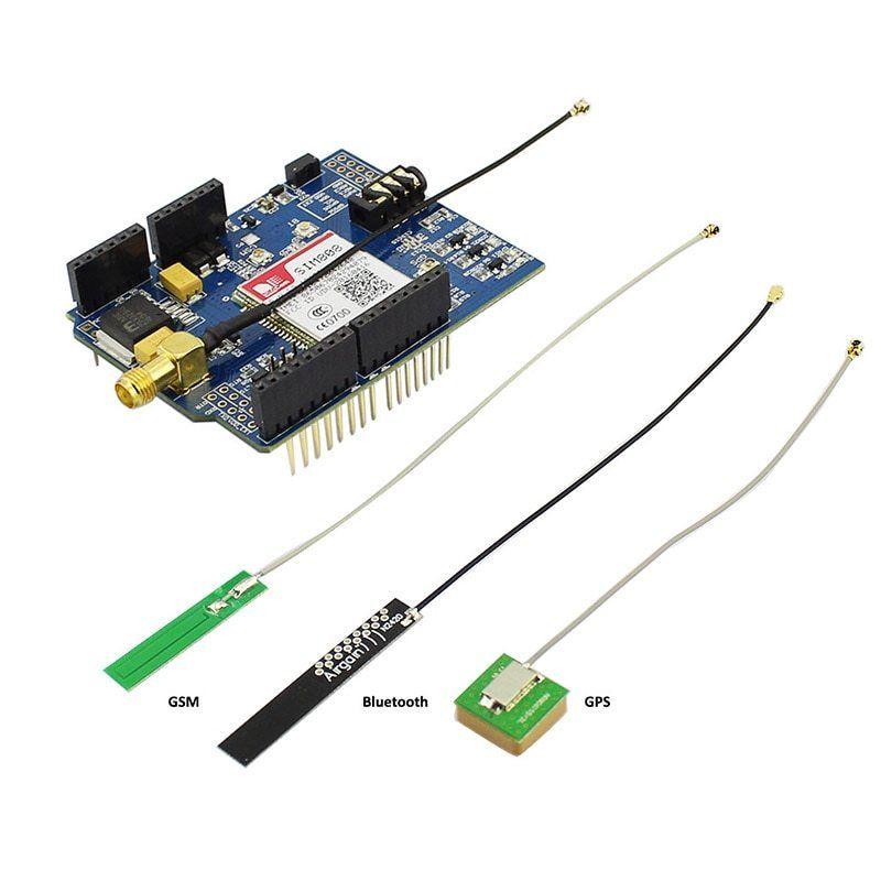 Elecrow SIM808 Bluetooth GSM GPS Shield for Arduino SIMCOM