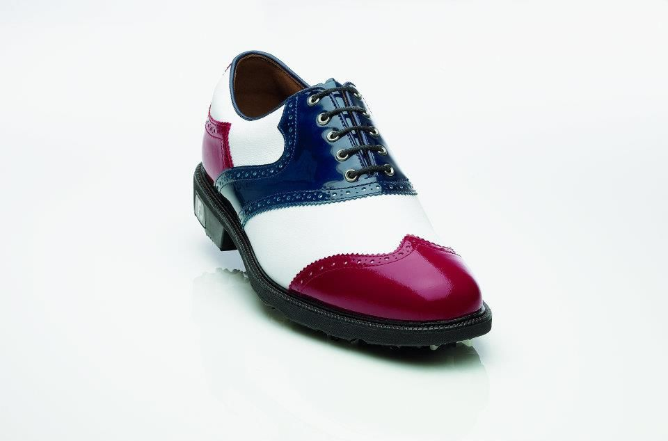 FootJoys Custom Red White and Blue golf