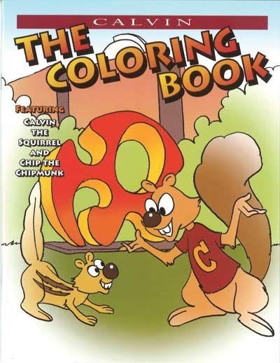 Calvin College Coloring Book