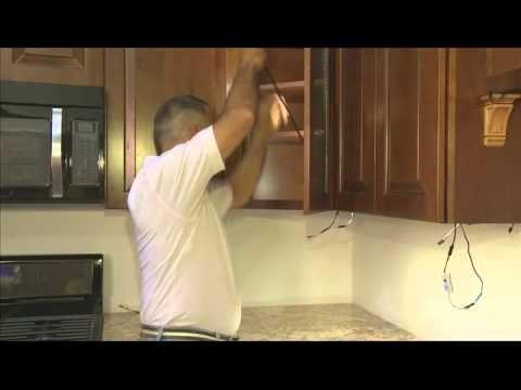 Led Under Cabinet Installation Video Led Under Cabinet Lighting Installing Cabinets Led Cabinet Lighting