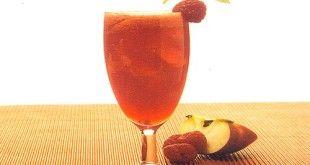 apple & raspberry juice