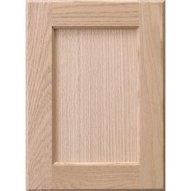 Surfaces 10 In W X 28 In H X 0 75 In D Red Oak Cabinet Door Front