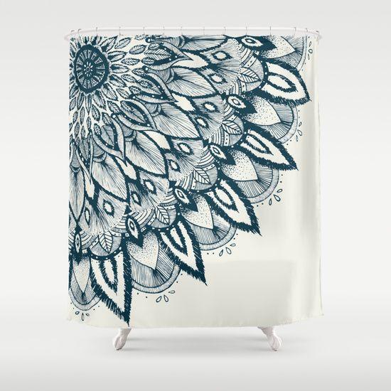 mandala shower curtain by rskinner1122