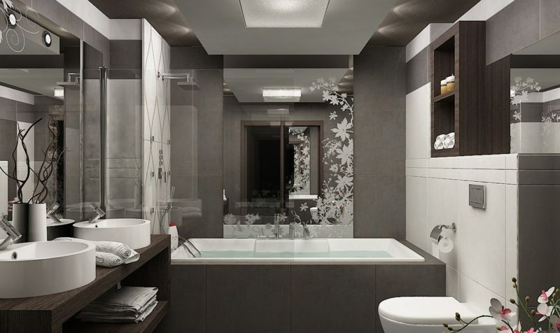 Stunning Idee Deco Salle De Bain Avec Baignoire Ideas - Design ...