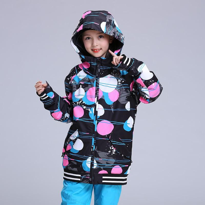 New GSOU SNOW ski jacket children waterproof boys winter jackets girls  snowboard suits skiwear kids ski clothes. Yesterday s price  US  119.90  (104.07 EUR). 71d22b8ea