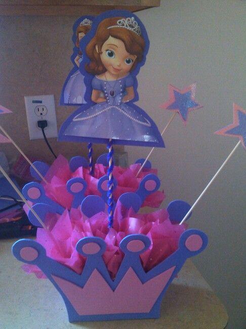 4760f250a princesa sofia decoracion centros de mesa - Buscar con Google ...