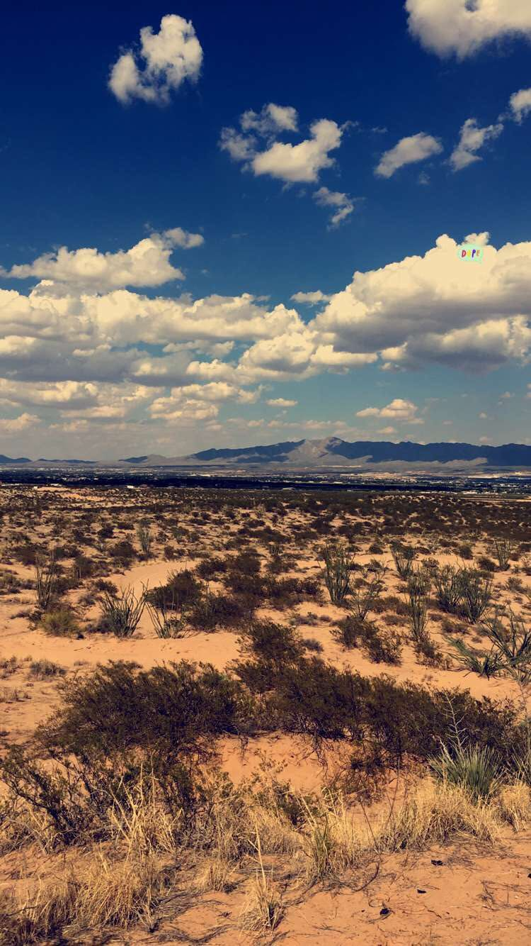 Middle of the Desert Texas [750 x 1334]. iPhone 6/ 6S Wallpapers