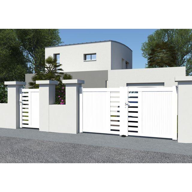 portail pvc 1m50 560 portillon 1m