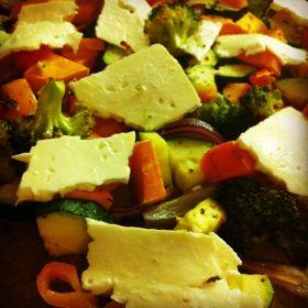 Lieblingsessen: Ofengemüse mit Feta