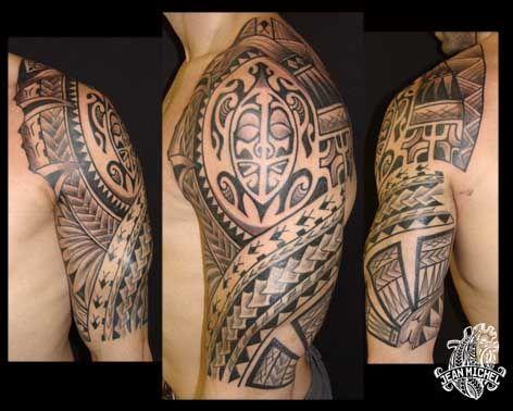 Tatouage Tortue Maorie Signification Tatouage Polynesien Et Sa