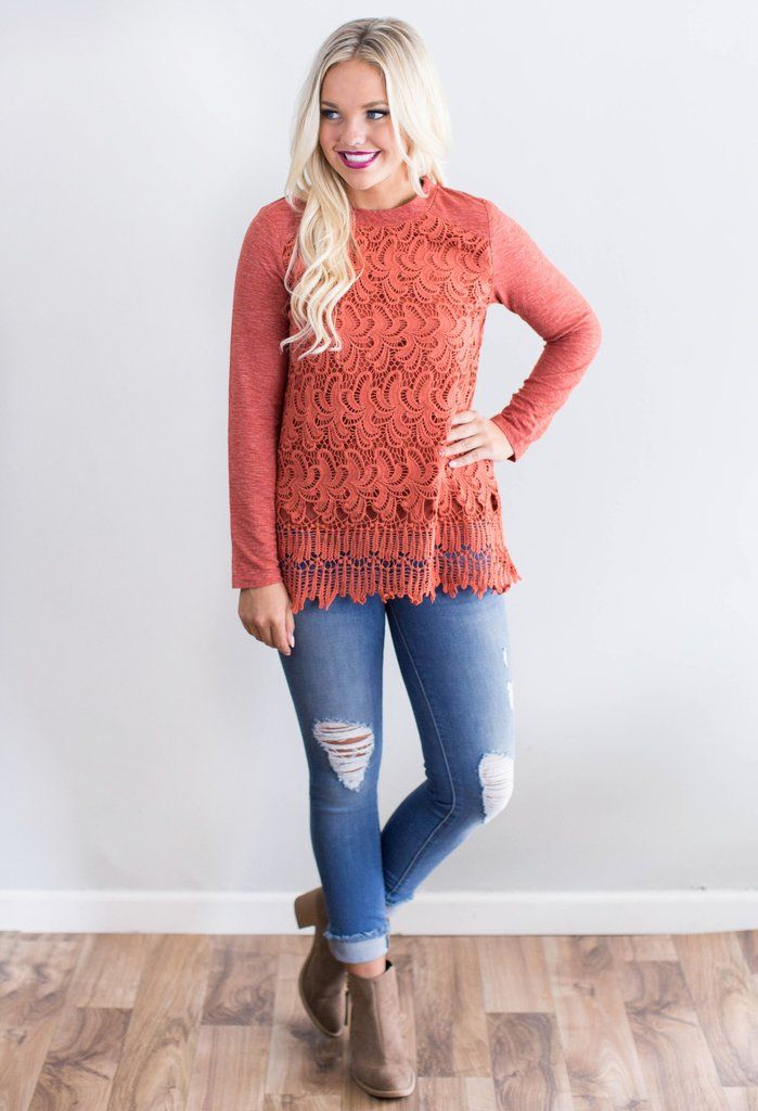 Be Beautiful Crochet Top