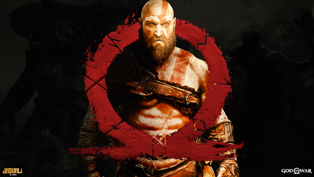Resultado De Imagem Para God Of War 4 Logo God Of War Kratos God Of War Hd Wallpaper 4k