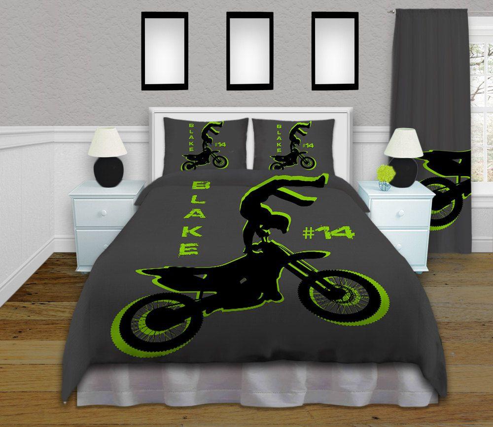 Images Dirt Bike For Bedding Blanket