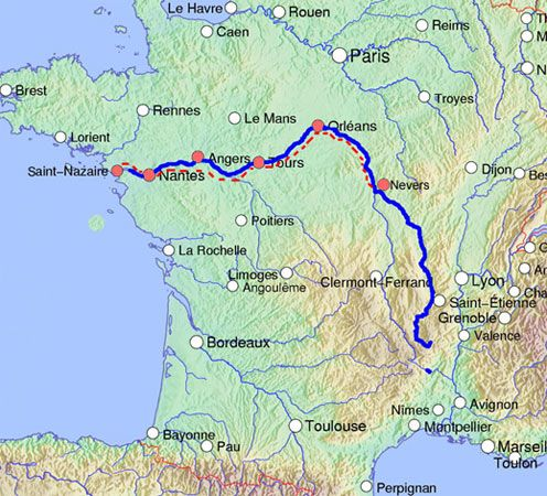 loire river rivers pinterest rivers