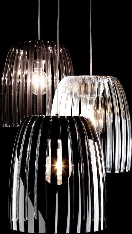 Koziol Hanglamp Josephine M.Hanglamp Josephine M Antraciet Transparant Koziol Ideeen