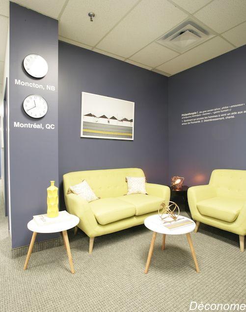 mon relooking de bureaux corpo avec des stickers sur. Black Bedroom Furniture Sets. Home Design Ideas