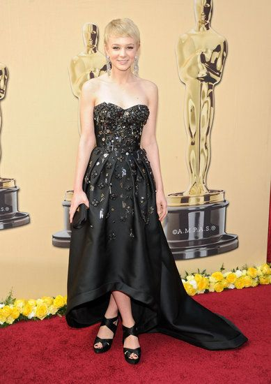 Carey Mulligan in a Prada Gown at the 2010 Oscars | Red ...