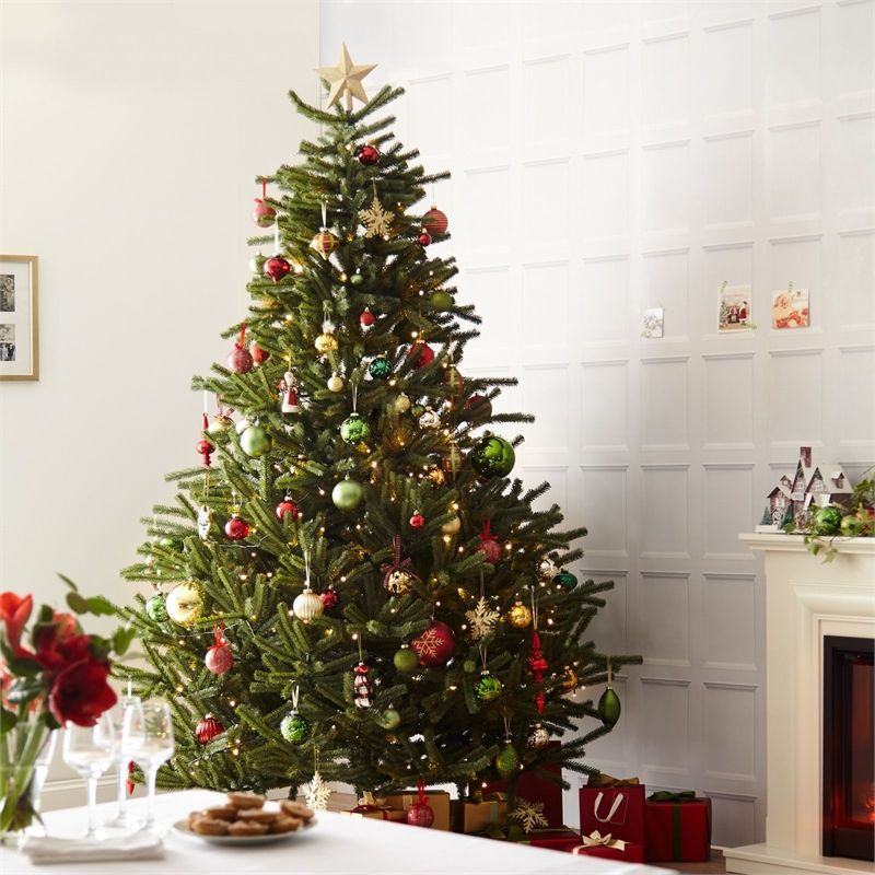 Local Christmas Trees: Find 8ft Green Arc Artificial Christmas Tree At Homebase