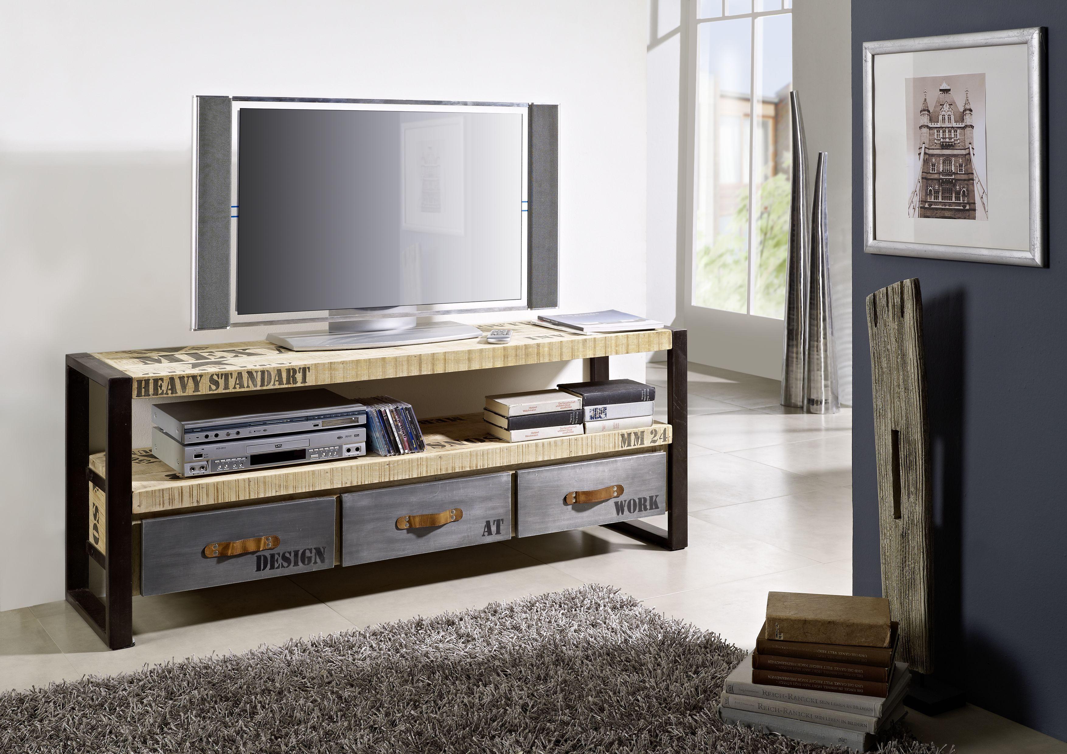 cooles design aus mangoholz und eisen: die factory-möbel
