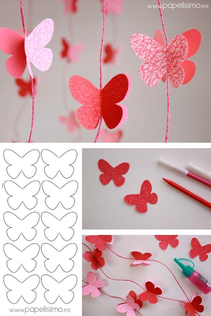 ▷ 1001 + tolle Ideen, wie Sie Schmetterling basteln