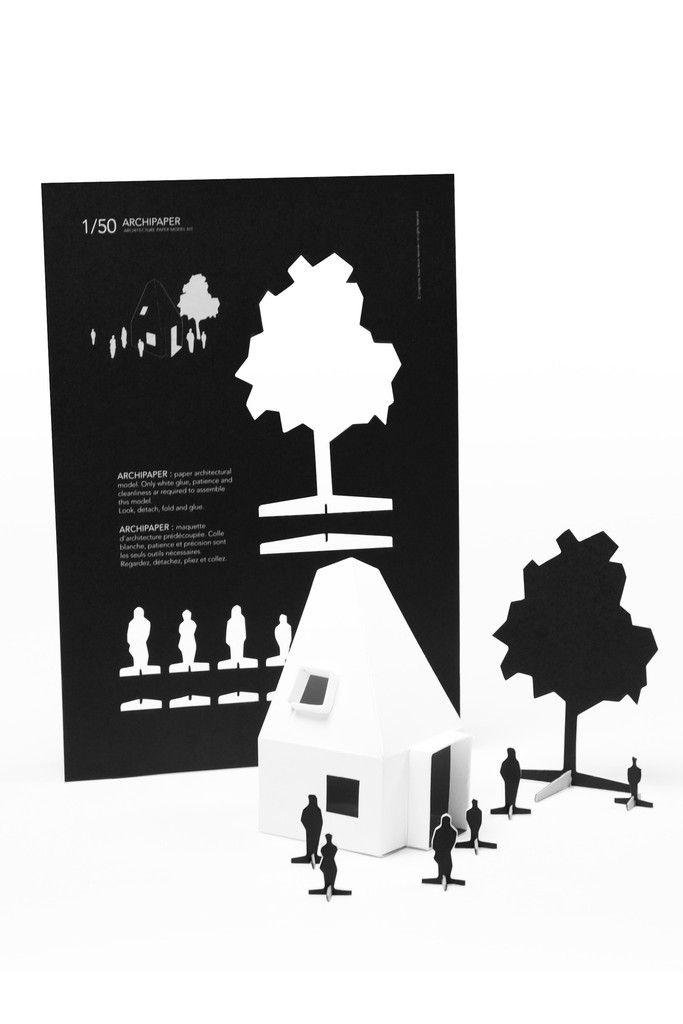 Cinqpoints Archipaper Model Kit Paper Models Wellness Design