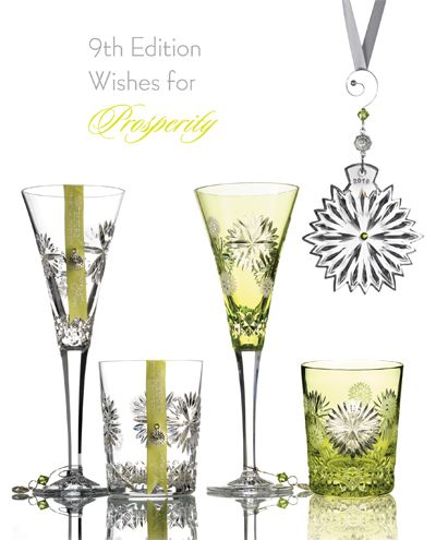 6be01ed3c635 Waterford Crystal Snowflake Wishes - 2019 Prosperity   Waterford ...