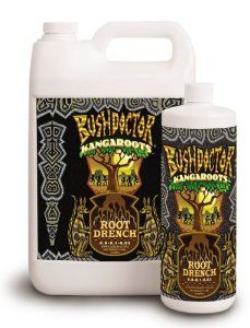 Fox Farm Bush Doctor Kangaroots Root Drencher 1 Quart by Fox Farm. $18.99. Bush Doctor Kangaroots is a liquid root drench formulation for use on in-ground plantings, container gardens and hydroponic systems. Use Bush Doctor Kangaroots on seedlings and mature plants throughout the growing season to enhance the proliferation of root mass development. Beneficial for fruits, flowers, vegetables, trees and shrubs.