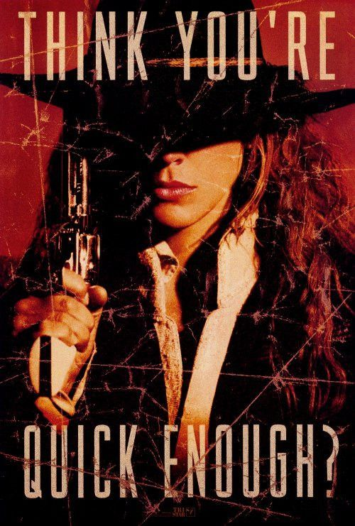 The Quick and the Dead 27x40 Movie Poster (1994)