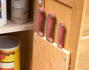 10 kitchen cabinet drawer organizers you can build yourself door diy cabinet door knife block but put it in the upper cabinets to keep knives out of reach of the kiddies solutioingenieria Image collections