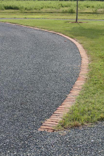 Driveway Edging Driveway Edging Driveway Landscaping Brick