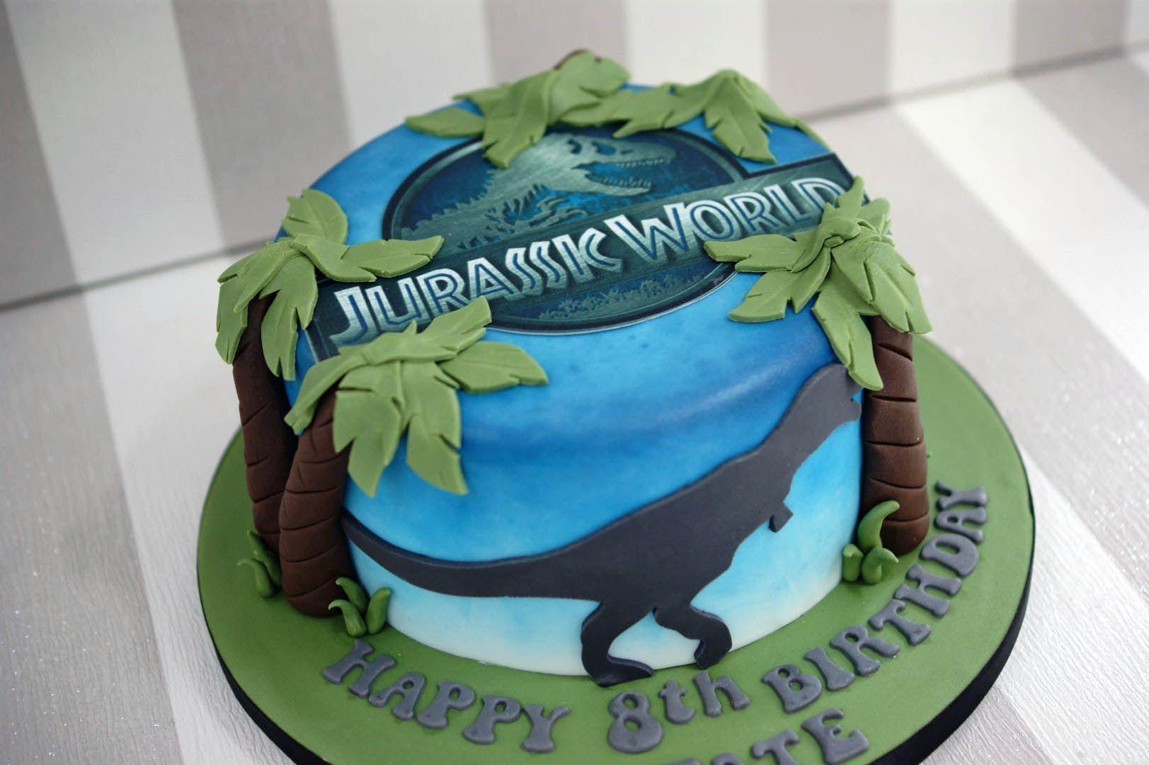 Jurassic World Cakes Google Search Jurassic World Cake 8th