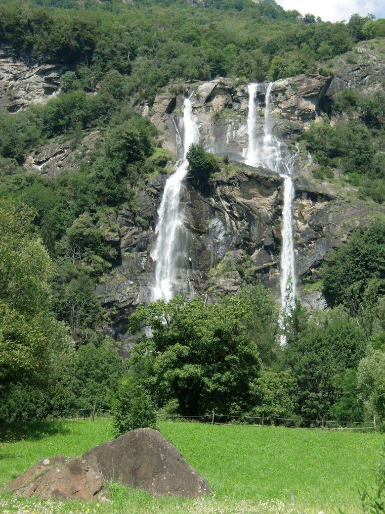 Wasserfall in Borgonova