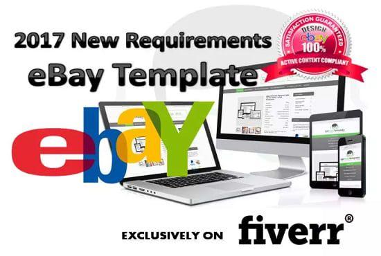 Jitunraha I Will Create Responsive HTML Ebay Listing Template For - Create ebay listing template