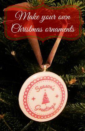 resin christmas ornaments