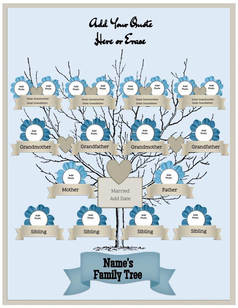 free online family tree templates