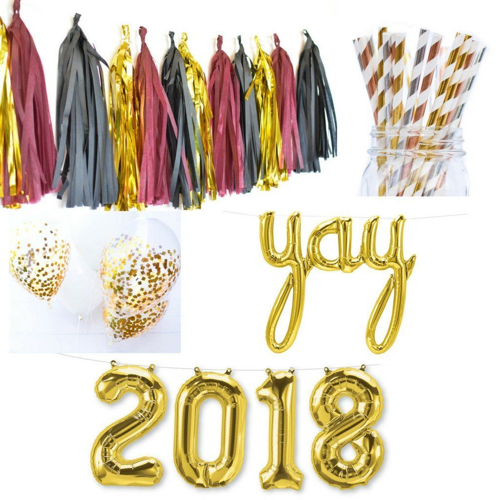 2020 Graduation Decorations, Party in a Bag Graduation