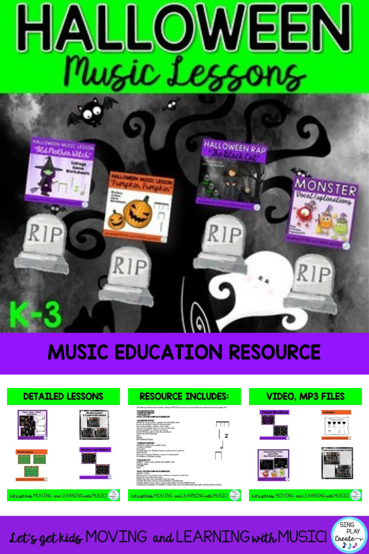 "halloween music lessons"" witch-witch"" ""pumpkin"" ""black cat"" & vocal"