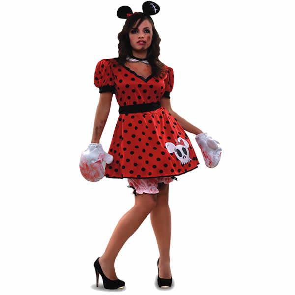 DisfracesMimo disfraz de ratoncita zombie mujer talla ml Lo